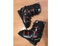 Salomon size 9 men's ski boots size 9 - L = 322mm