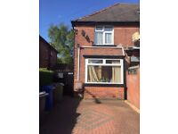 3 Bedroom/2 Toilet House with large garden for rent in Prestwich - Message at 07490235384