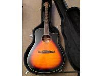 Fender Electro- Acoustic Guitar [t-bucket 300-ce]+ Hard case
