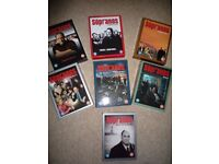 SOPRANOS complete 7 series of box sets. Played once. Mint condition.