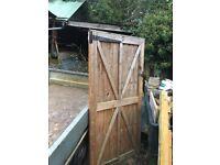 6x3 ft garden gate