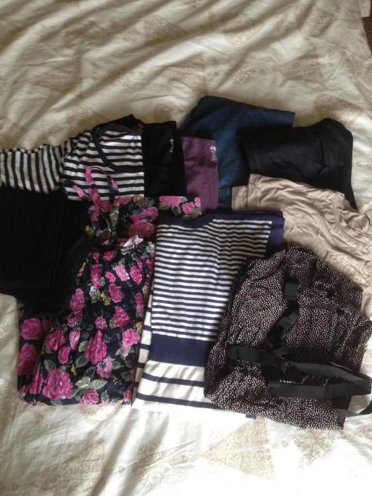 Maternity clothes bundle size 16in Heath, CardiffGumtree - Maternity clothes bundle Size 16 / LJeans, jeggings, leggings, tops, smock, dressFrom a smoke & pet free home