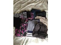 Maternity clothes bundle size 16