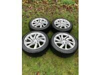 "Genuine Winter 22"" 21"" Range Rover Sport Vogue Discovery Alloy Wheels Pirelli Tyres"