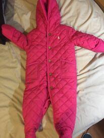 Ralph Lauren snow suit