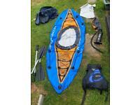 Hydro Force Inflatable Kayak & Life Jacket