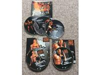 Insanity workout DVDs x5