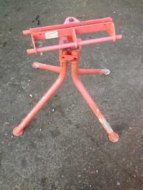 Cement mixer stand Used
