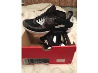 Nike Air Max 90 Ultra 2.0 Flyknit - Black/Grey/White - UK Size 9 - Never Worn