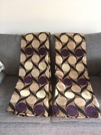 Good quality curtains and cushion covers