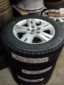 225 65 17  tires /  Dodge Grand Caravan Jurney Chrysler Town & Coutry alloy rims 5 x 127 / TPMS