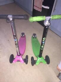 Maxi micro scooter x2 (Quicksale wanted )