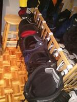 épaulettes culottes casques différents format