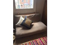Double futon including mattress, good condition, £60 ONO