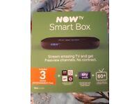Brand new smart now tv box