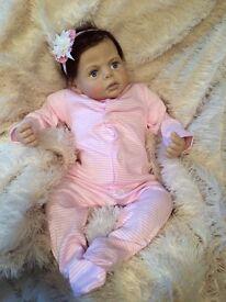 Reborn baby girl natalie