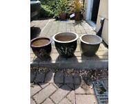 Set of 3 pots