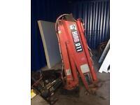 Hiab 011 crane ready to work ideal 3.5t truck or trailer atlas crane