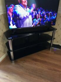 Glass T.V stand (T.V not included)