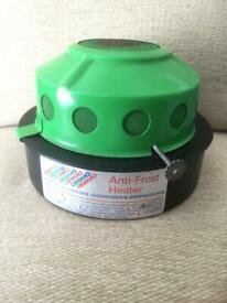 """Vintage 60s """"Desmo"""" Anti-Frost Heater"""
