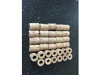 Corks for fishing rods cork 1/2 inch fly salmon carp coarse 33 corks