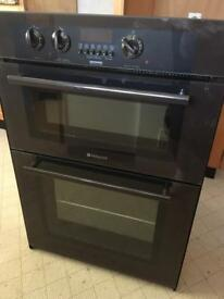 SSOLD Hotpoint BD32 built in double oven/grill