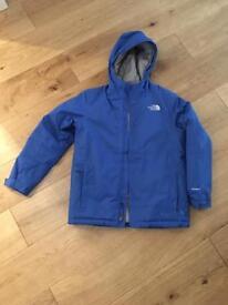 Boys North Face ski jacket