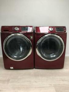 Used Samsung Washer and Dryer(Steam) $900. 1 Year Warranty. Professionally Reconditioned
