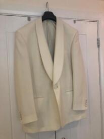 Creme suit jacket