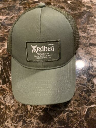 ARDBEG SCOTCH WHISKY HAT AWESOME ULTRA RARE IMPOSSIBLE TO FIND BRAND NEW