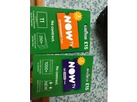 Two now tv vouchers for swap/sale