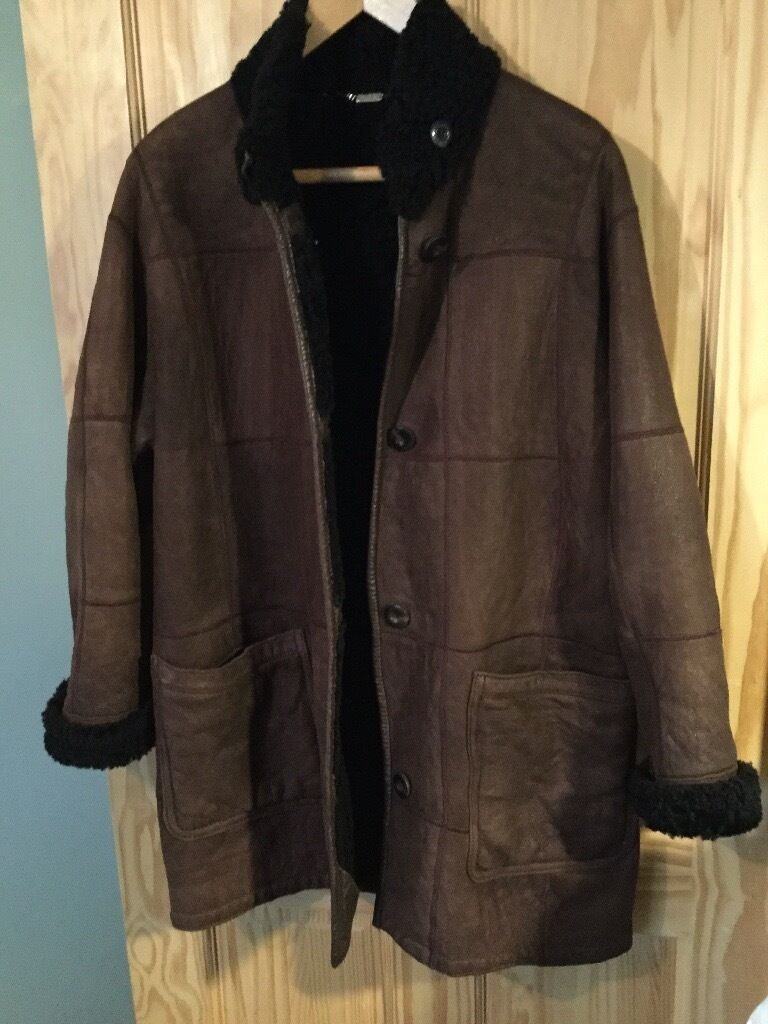 Sheepskin coat 12/14 very soft and clean £45 | in Brentwood Essex