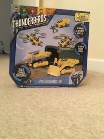 Thunderbirds build your own vehicle play set