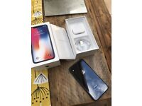 Apple iPhone X - 256GB - Space Grey (Unlocked) A1901 (GSM) mint condition