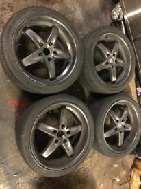 Bmw alloys , 5x120 18""