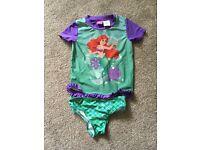 Little mermaid swimming costume