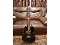 Crafter Acoustic Guitar with extras