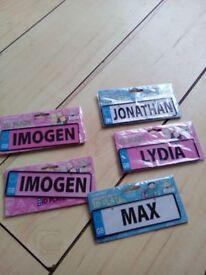 ID plates