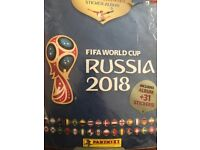 Panini Russia World Cup stickers for postal swap