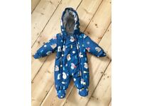John Lewis baby snow suit 0-3 months