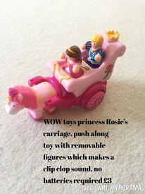 WOW toys princess carriage