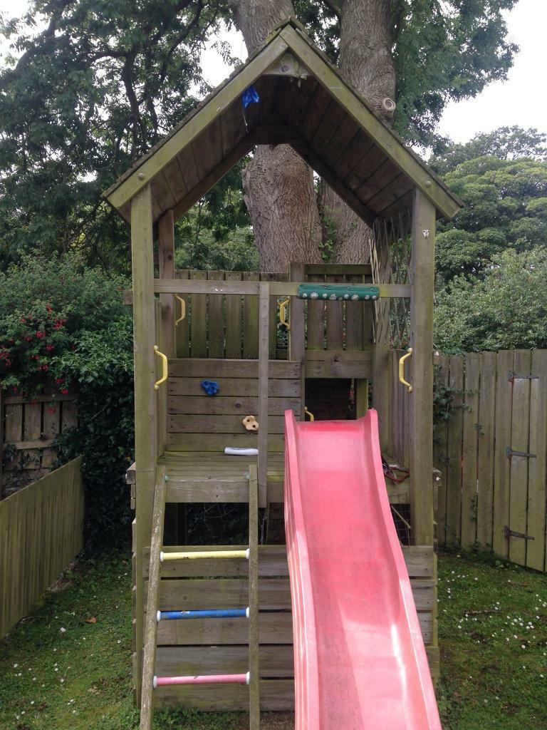 Jungle Gym Wooden Outdoor Play House In Ballygowan County Down Gumtree