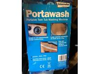 Portawash portable washing machine