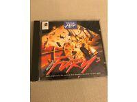 "Microsoft retro PC game ""Fury 3"" on Windows 95, in perfect condition."
