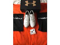 Under armour golf shoes size 8.5