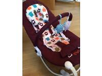 Baba Bing Lobo baby bouncer seat