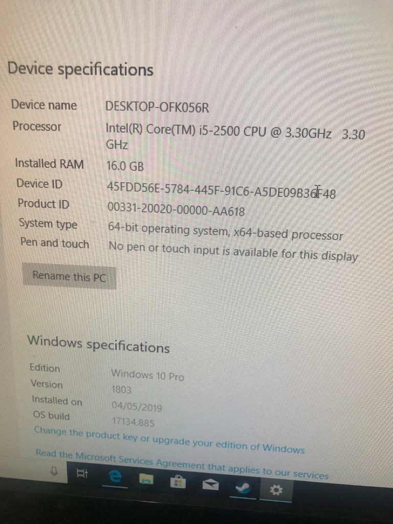 Gaming pc with gaming keyboard and mouse | in Chandlers Ford, Hampshire |  Gumtree