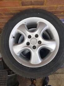 "Original Irmscher Ronal 16"" alloys wheels from Vauxhall Omega. Set of 4"