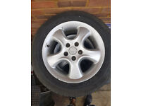 "Original Irmscher Ronal 16"" alloys wheels from Vauxhall Omega. Set of 4"