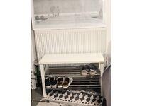 IKEA TJUSIG Bench shoe storage - Shoe Rack - RRP £50